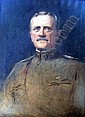 AN OIL ON CANVAS;Depicting General Pershing, signed LR (Step, Douglas Volk, Click for value