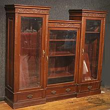 Victorian Carved Mahogany Cabinet
