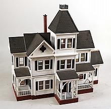 Victorian Style Dollhouse, of Impressive Size