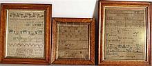 Three English Samplers