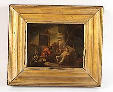 Oil on Panel, Interior Scene, Adriaen van Ostade