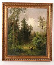 Oil on Canvas, Stafford Springs, Richard Schmid
