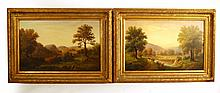 Pair of Oils on Canvas, Hudson River School