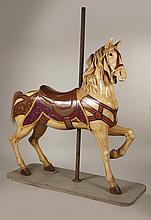 Painted Carousel Standing Horse, Dentzel