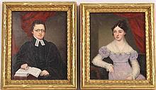Pair of Porcelain Portraits, William Corden