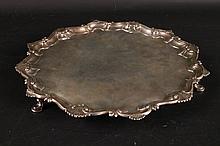 Silver Salver, Richard Rugg 1761