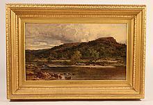 Oil on Canvas, Benjamin Williams Leader