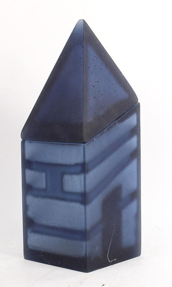 Two Piece Glass Sculpture, Emma Camden