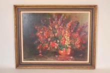 C. Bennett Linder, Floral Still Life