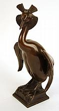 Bronze Sculpture of a Bird, Ludwig Vierthaler