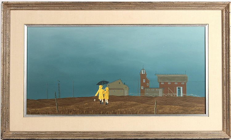 Oil on Canvas, Landscape,Peter Grant