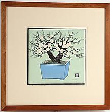 Woodblock Print, Still Life, Lillian May Miller