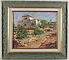 Oil on Canvas, New Mexico Church, Doug Higgins, Doug Higgins, Click for value