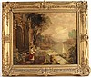 Oil on Board, Classical Scene, James Mallord William Turner, Click for value