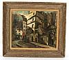 Oil on Canvas, Street Scene, Oliver Foss, Oliver Foss, $125