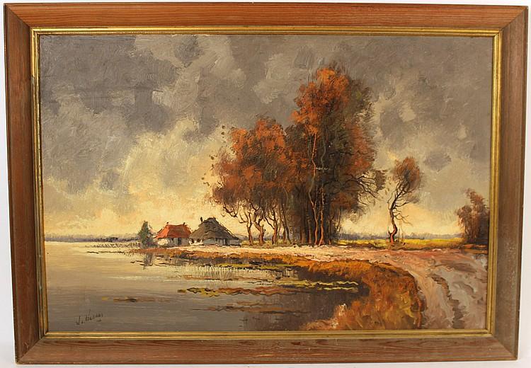 Oil on Canvas, Willem Hendrik van Norden