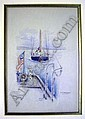 A WATERCOLOR, Robert Taylor Pritchett, Click for value