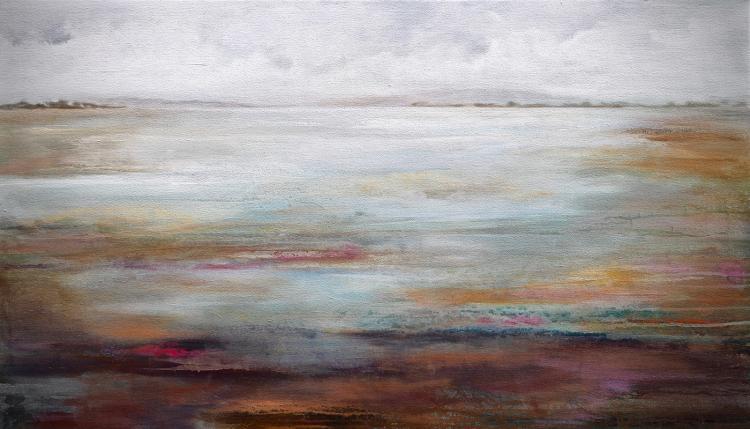 Marshland - acrylic painting on canvas