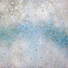 Kananna 1 - mixed media painting