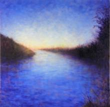 Hendry's Nocturne - original oil painting