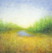 August Park - oil painting