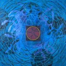 Magnetic Field - original acrylic painting