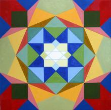 Chakra 6 - oil on canvas
