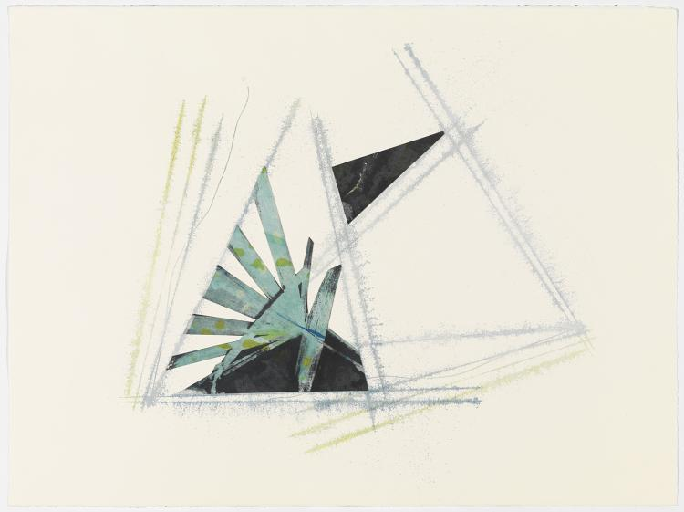 Snap 2 - Original Monotype Print