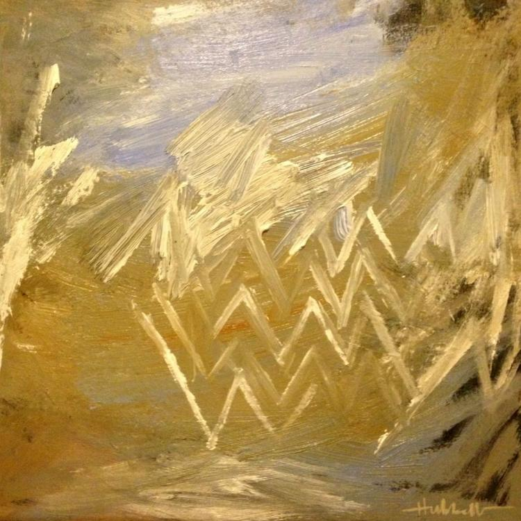 Between Here and There No. 3 - Abstract Acrylic Painting