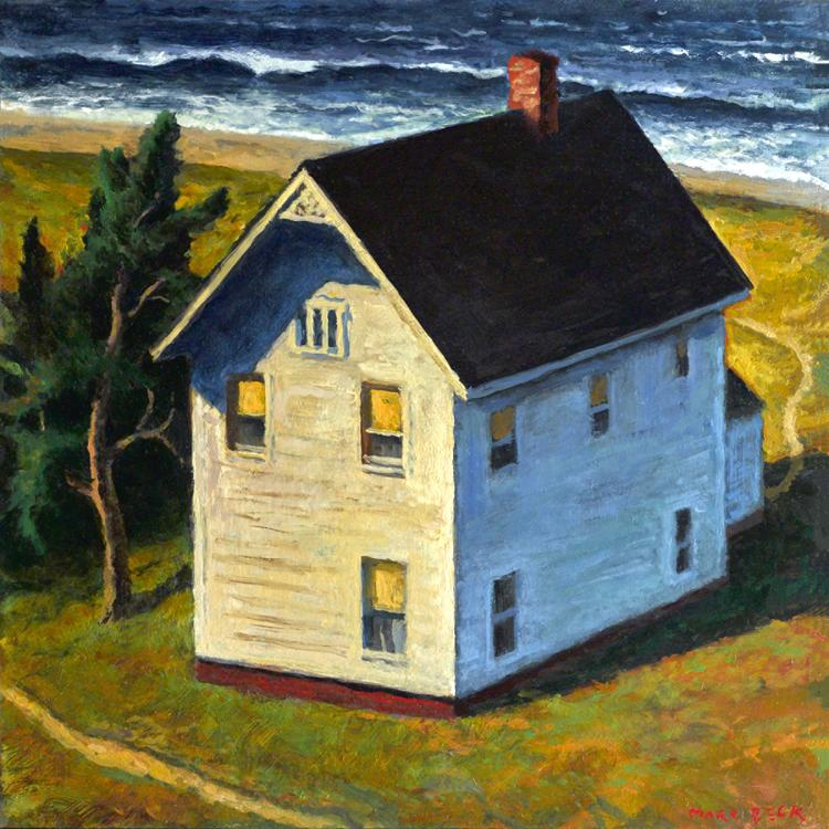 Aound the House - Original Oil Painting