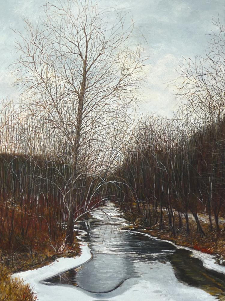 Winter's Day - original oil painting