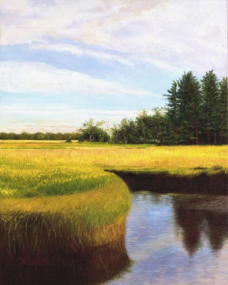 Salt Marsh lV - original oil painting
