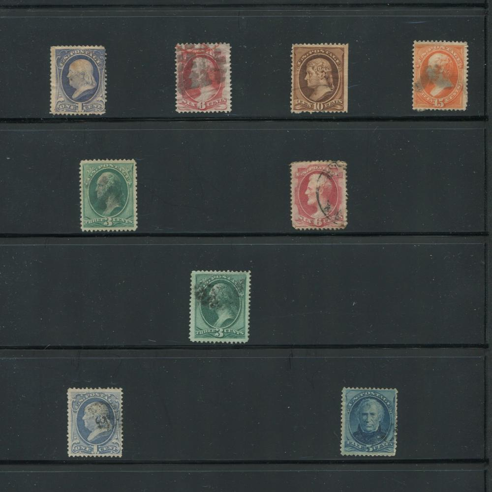 USA 1870-71 Early Rare Stamps