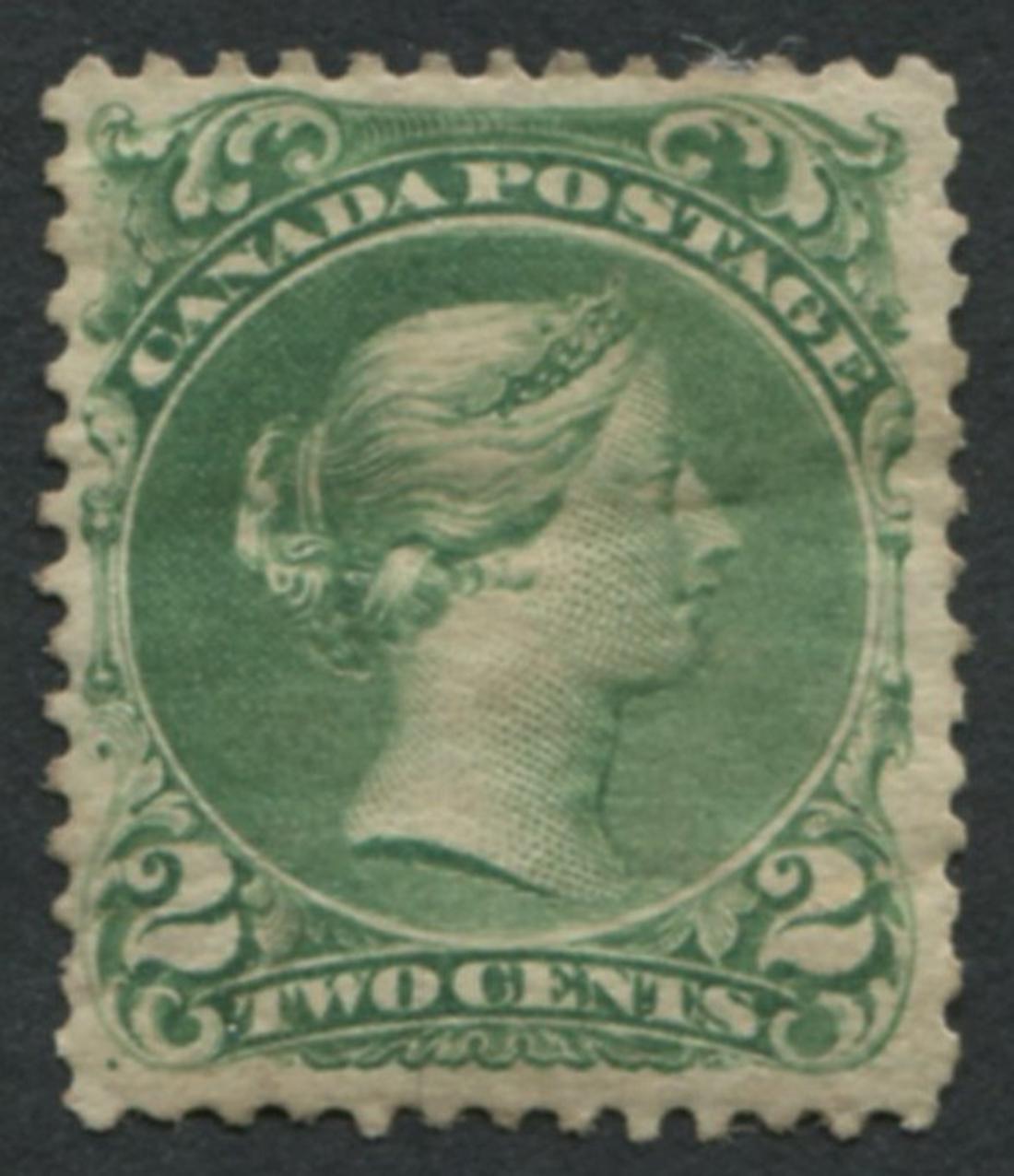 Canada #24 Emerald Green VF MLH