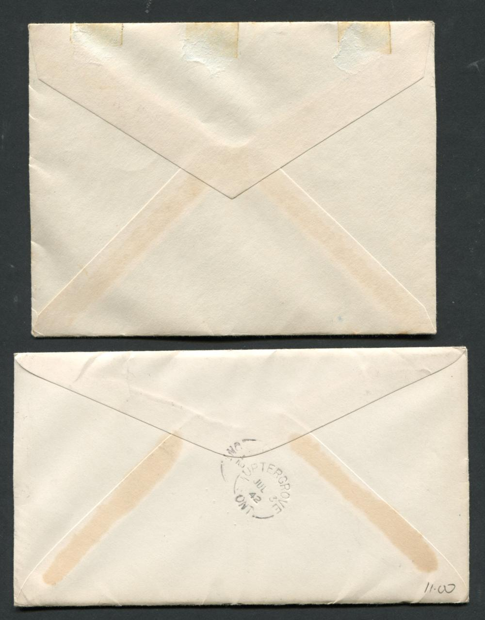Canada #241 & #256 First Day Covers
