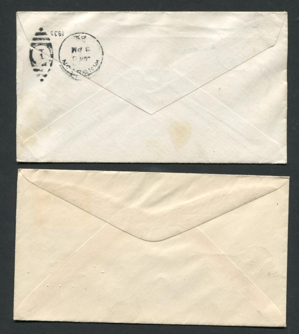 Canada #223 & #223 E6 First Day Covers
