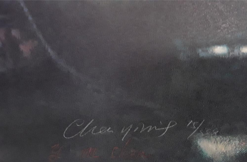 """Chen YiMing's """"Forest Of Masts"""" Limited Edition Print"""