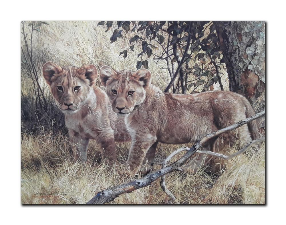 """Carl Brenders' """"Young Explorers"""" Limited Edition Print"""