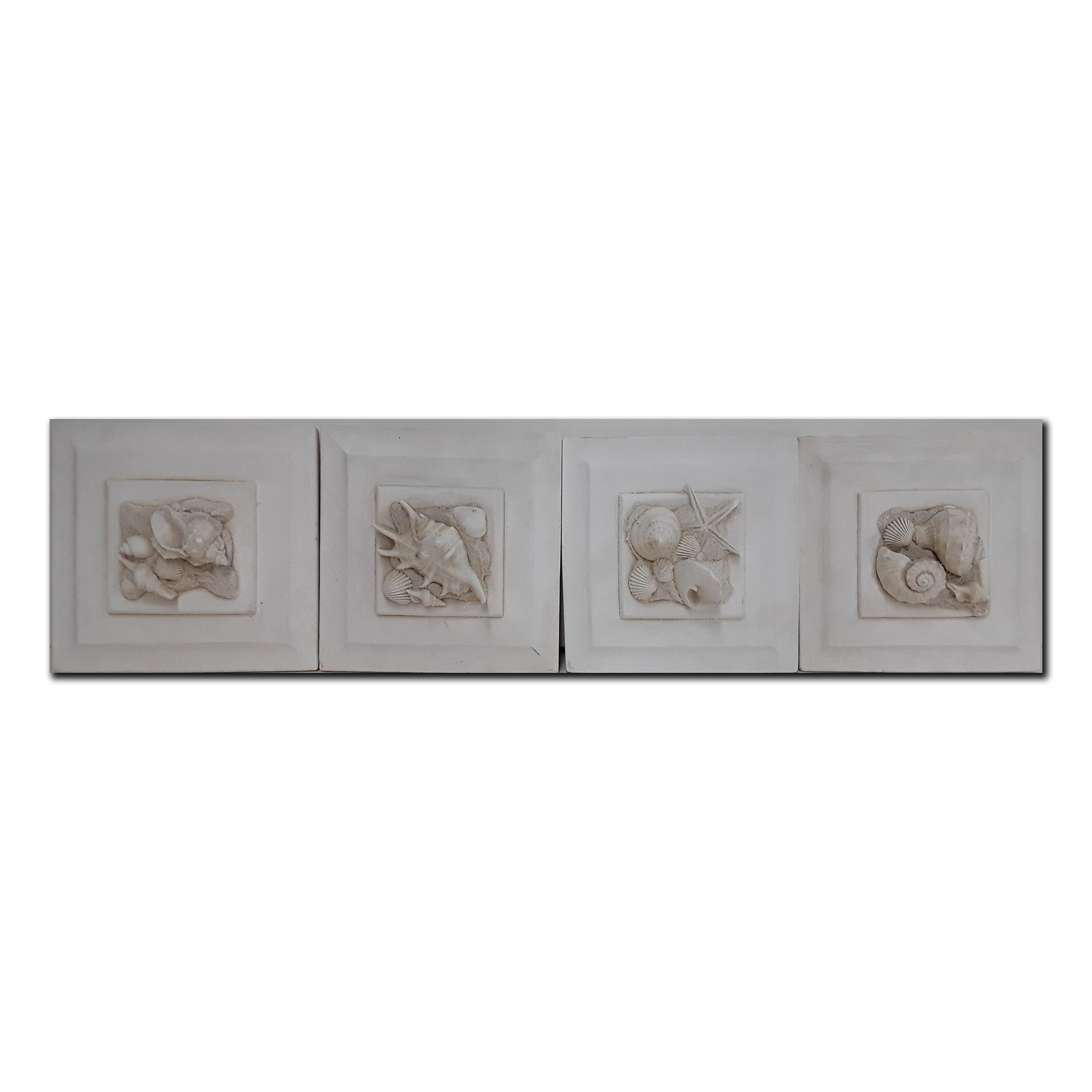 High Relief Plaster Molds - Seashell Theme