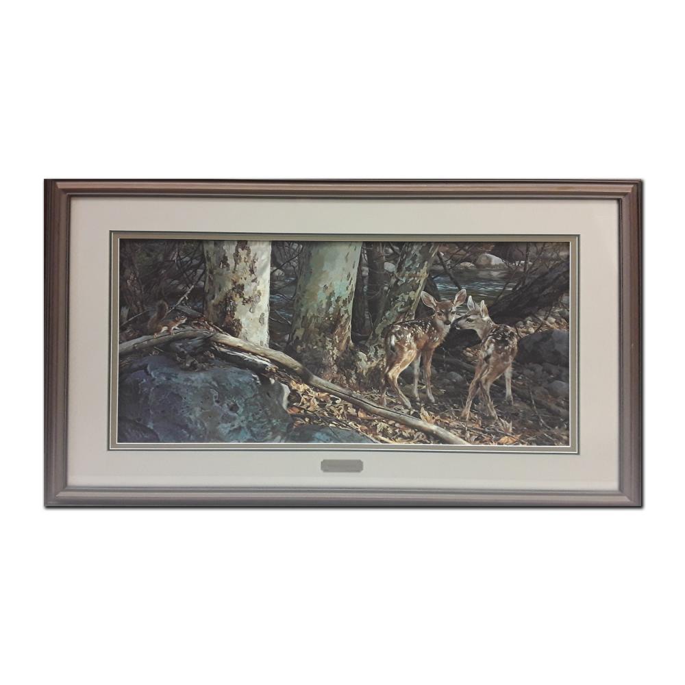 "Carl Brenders' ""Broken Silence"" Limited Edition Framed Print"