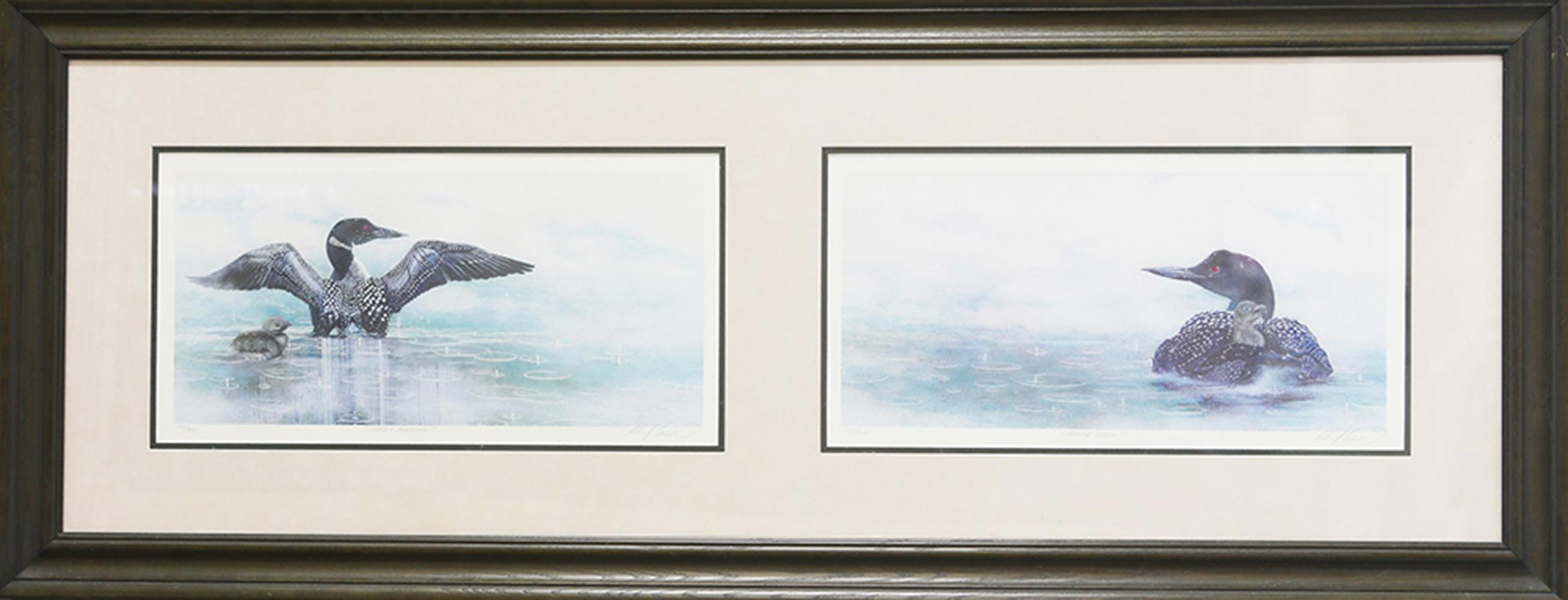 "Albert Casson's ""Early Morning - Summer Rain"" Limited Edition Framed Print"