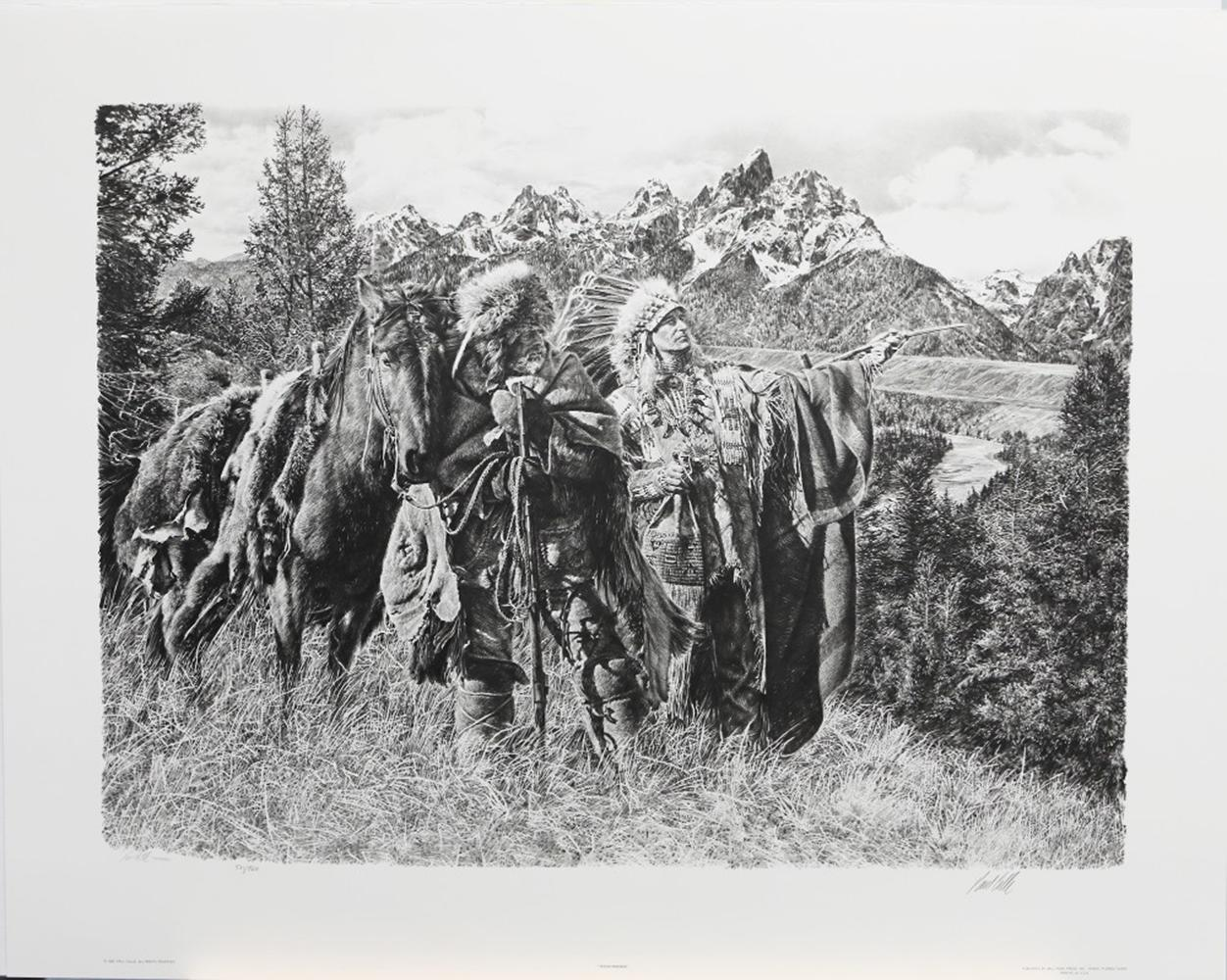 "Paul Calle's ""Teton Friends"" Limited Edition Print"