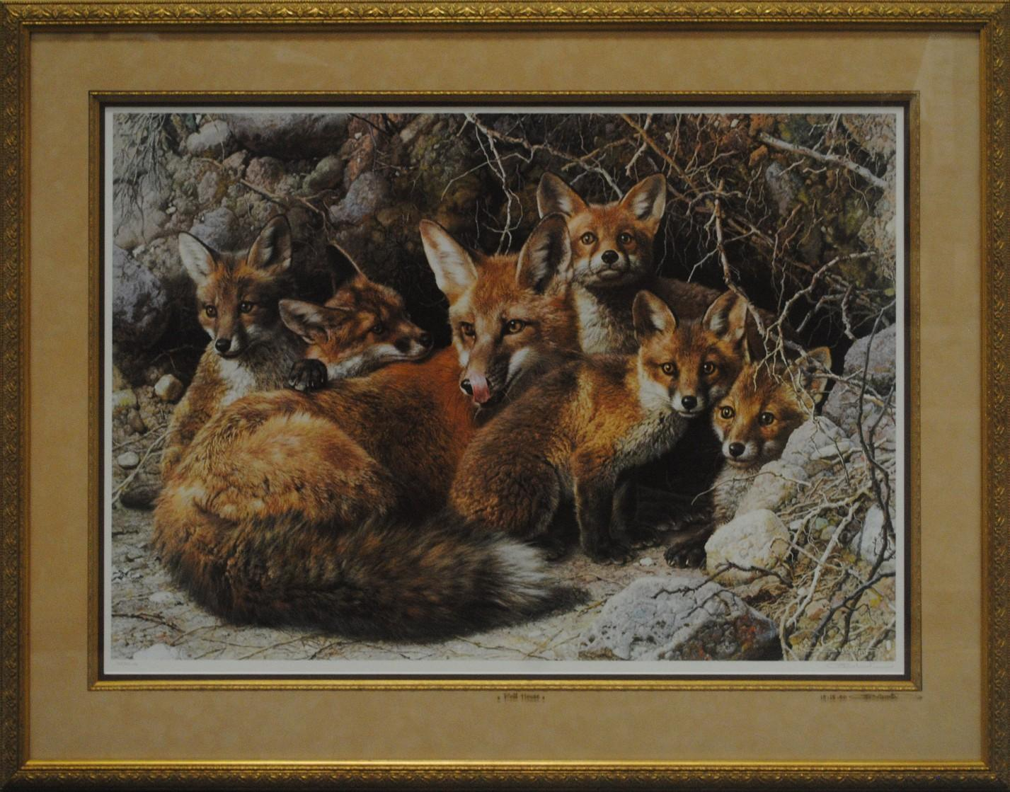 """Carl Brenders' """"Full House"""" Limited Edition Print"""