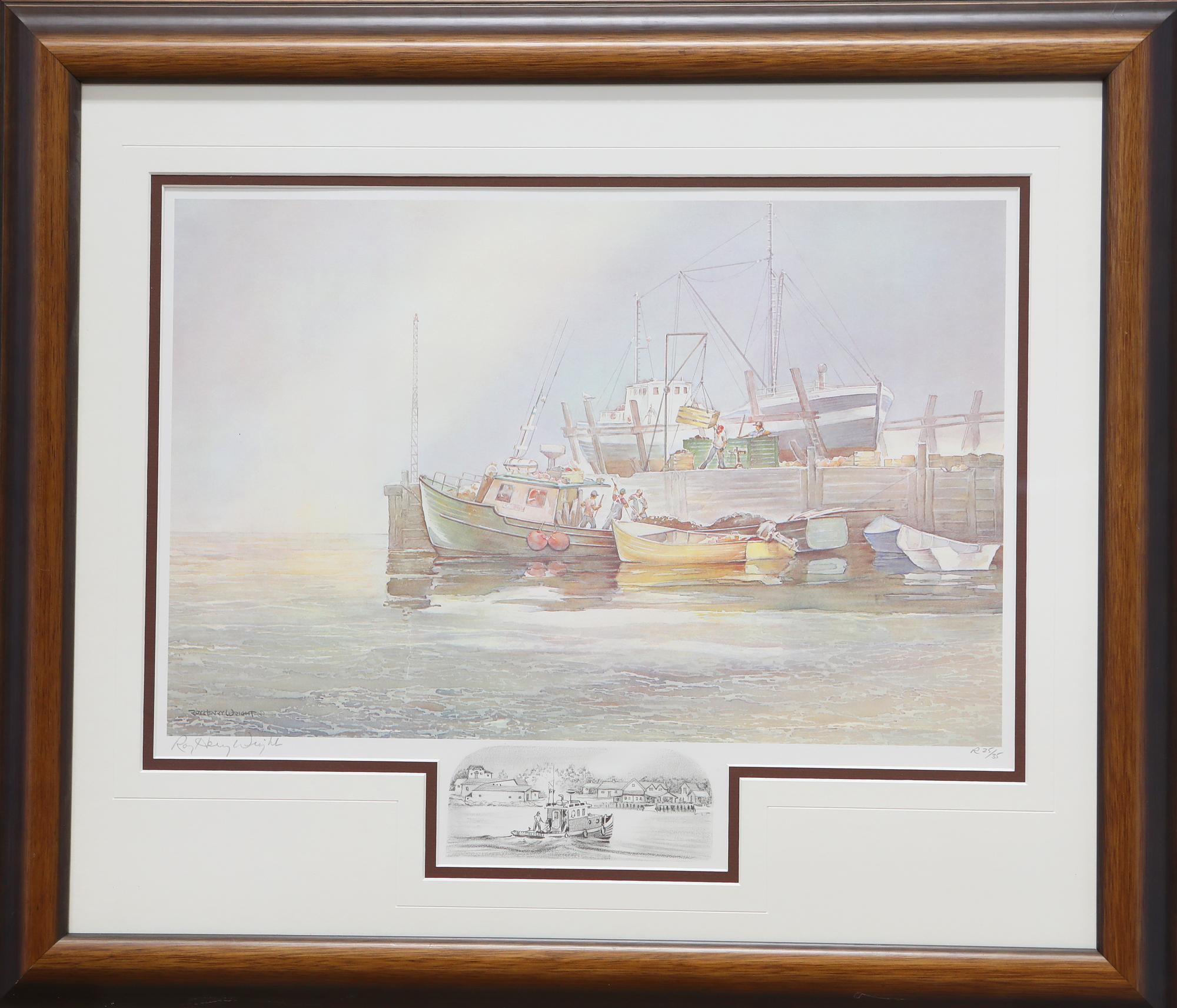 Roy Henry Wright Limited Edition Print