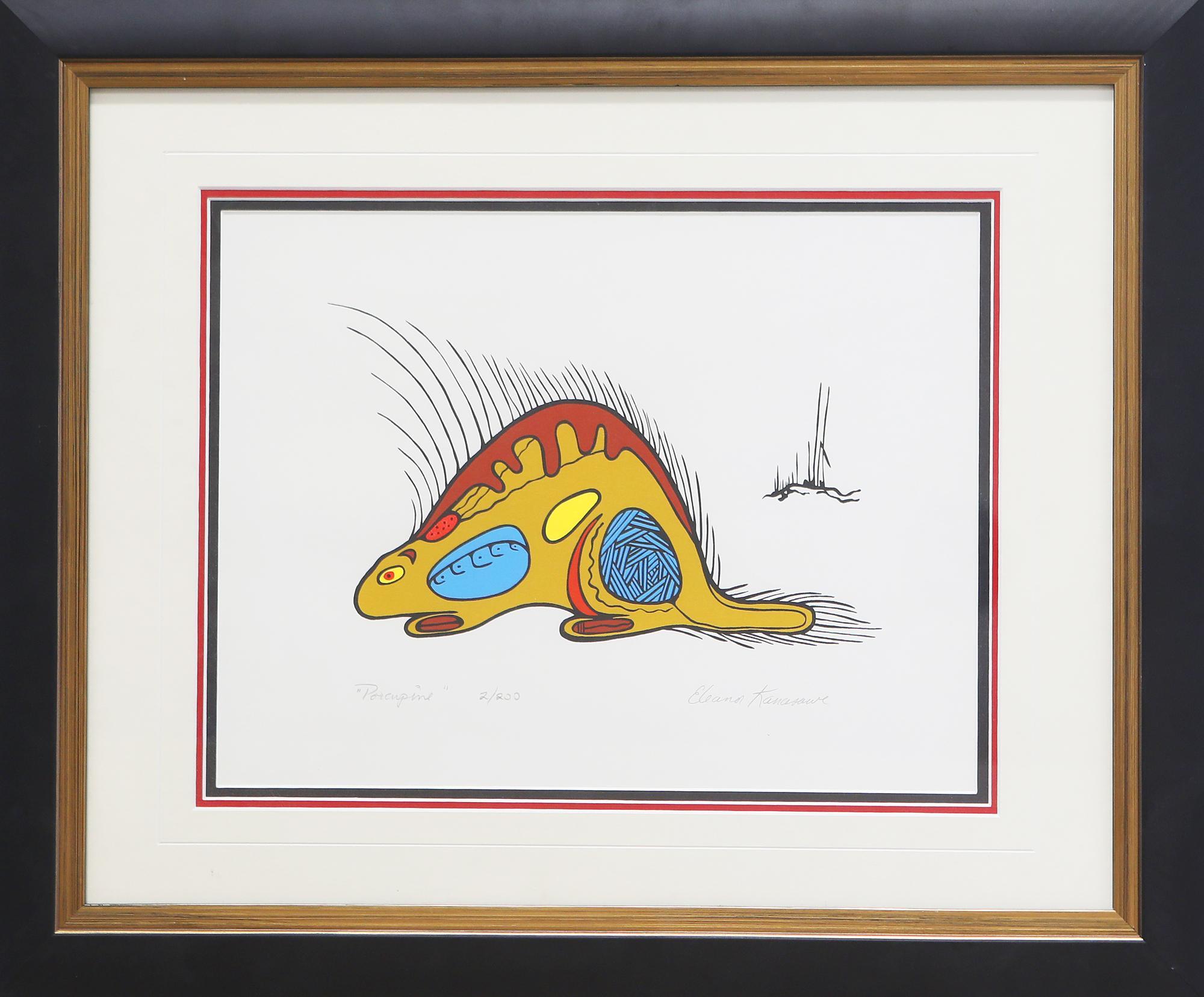 "Eleanor K's ""Porcupine"" Limited Edition Print"