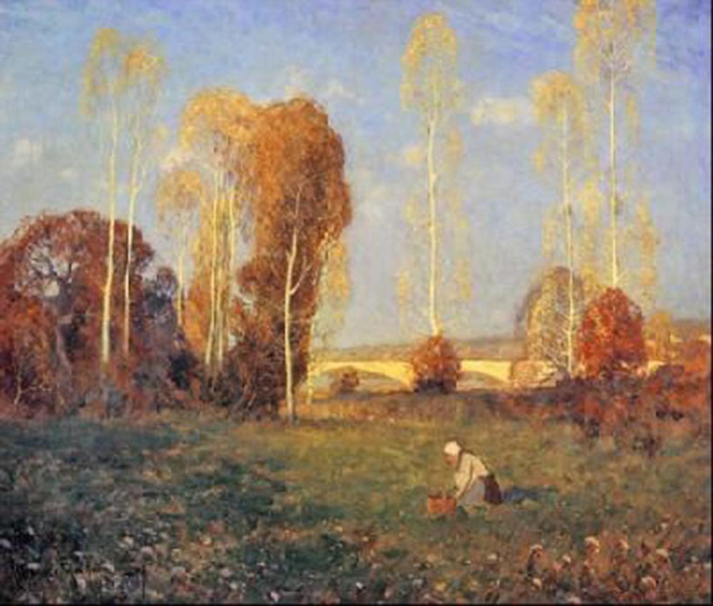 "Clarence Gagnon's ""Autumn"" Giclee Canvas"
