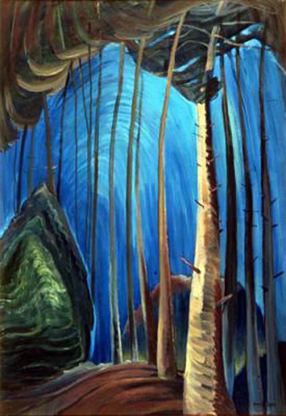 """Emily Carr's """"Blue Sky"""" Giclee Canvas"""