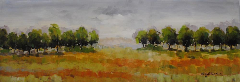"""""""Tree Line"""" on Canvas"""