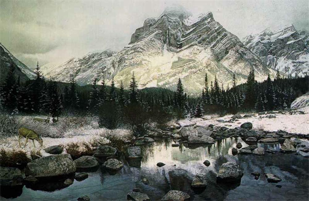 "Brent Townsend's ""Mountain Light"" Limited Edition Print"