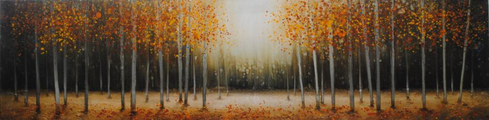 """""""Forest Light"""" on Canvas"""